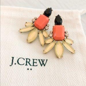 Large Jeweled Earrings
